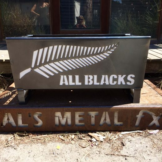 All Blacks Fire Pit