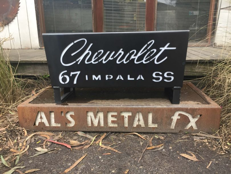 Chevrolet Impalla 67 Fire Pit