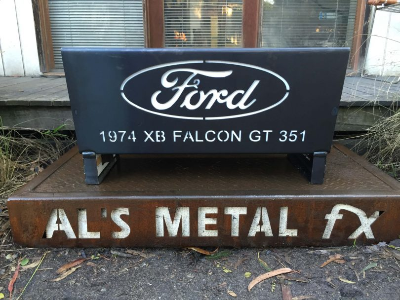FORD XB Falcon GT351 Fire Pit