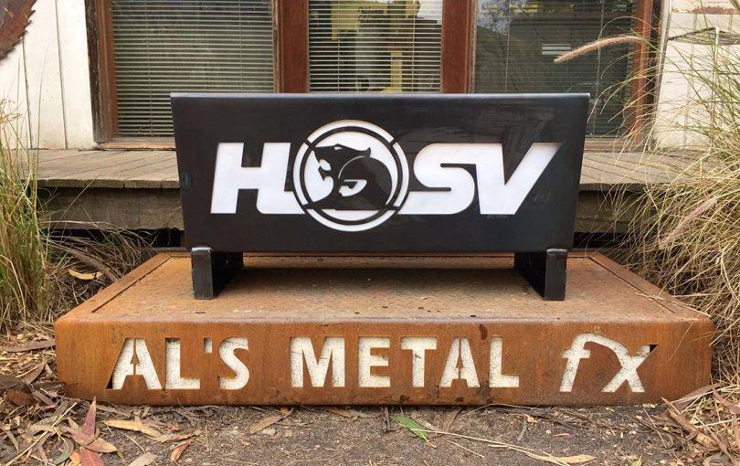 HSV Holden Fire Pit