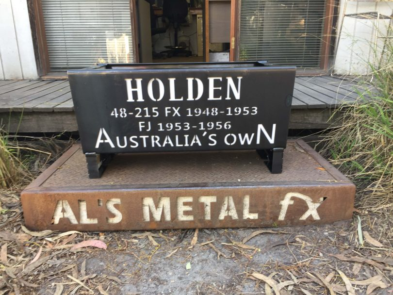 Holden Australia's Own Fire Pit