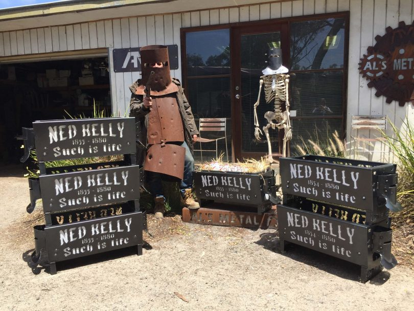 Ned Kelly Fire Pit LARGE