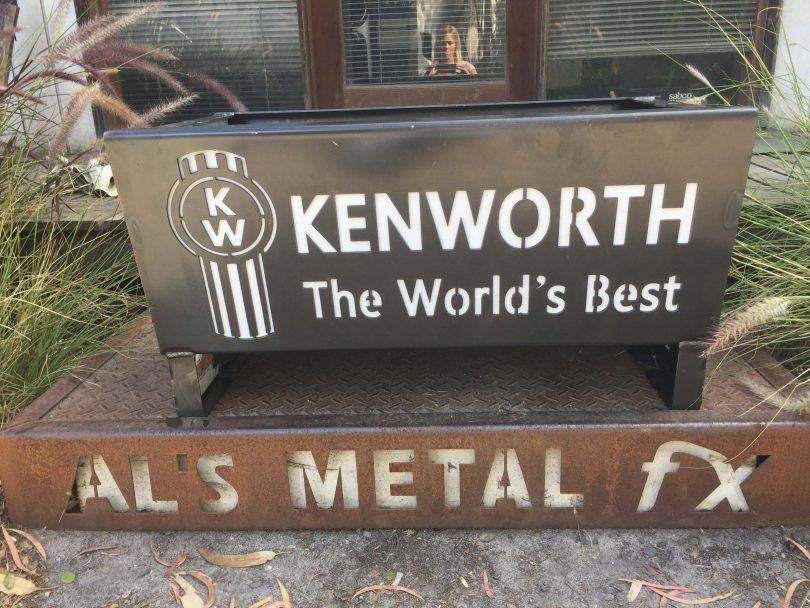 Kenworth Fire Pit