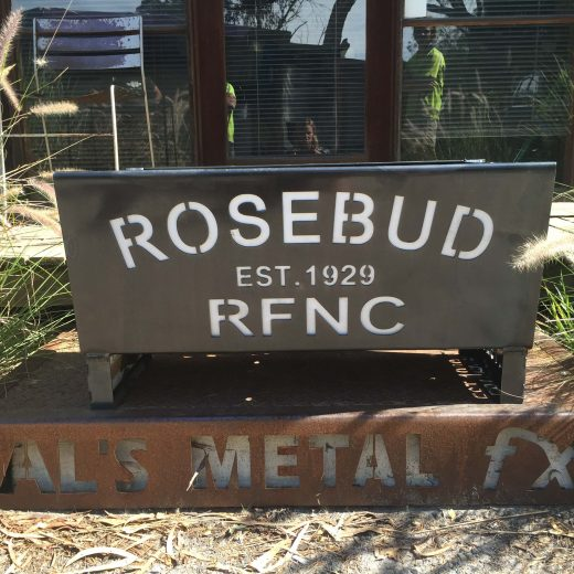 Rosebud Football Club Fire Pit