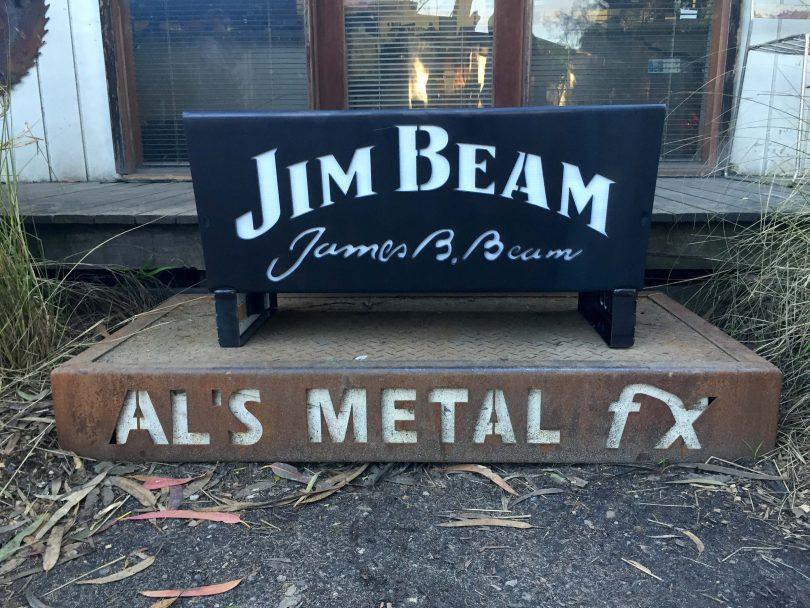 Jim Beam Fire Pit