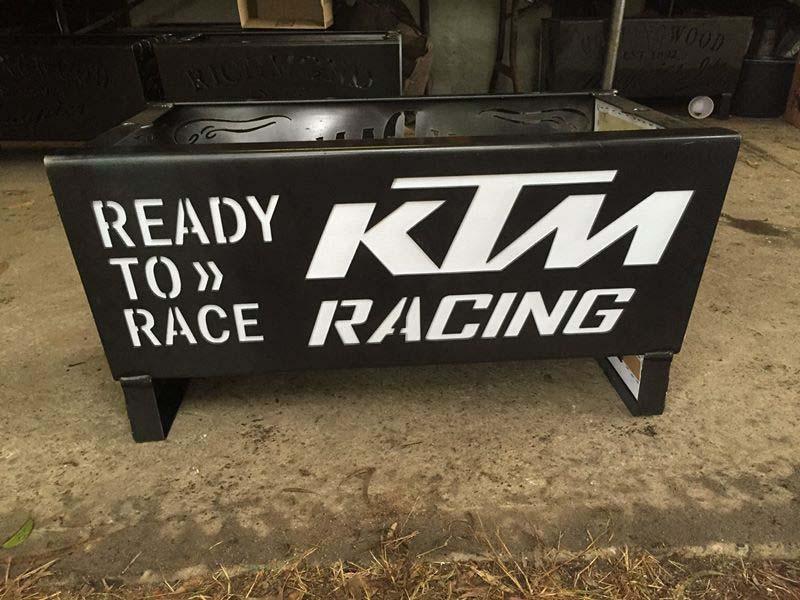 KTM Racing/FOX/Oakley Fire Pit