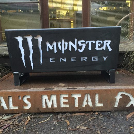 Monster Energy Drink Fire Pit