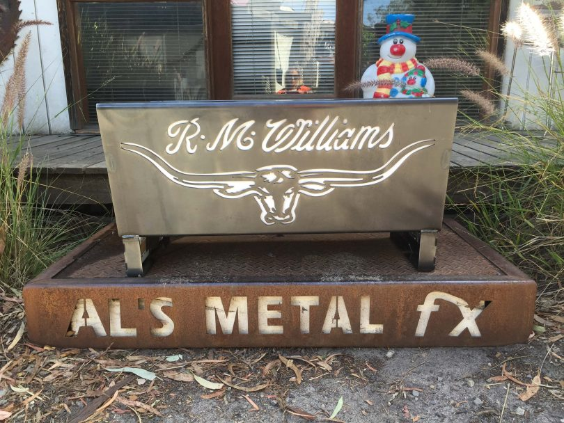 RM Williams Fire Pit