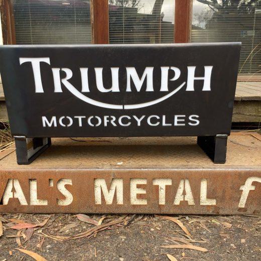 Triumph Motorcycles Fire Pit