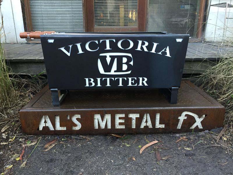 Victoria Bitter Fire Pit
