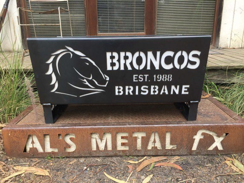 Brisbane Broncos Fire Pit