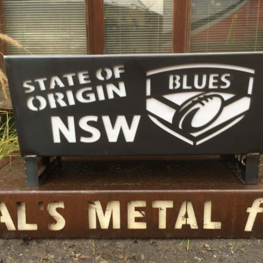 NSW Blues State of Origin Fire Pit