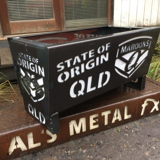 QLD Maroons State of Origin Fire Pit