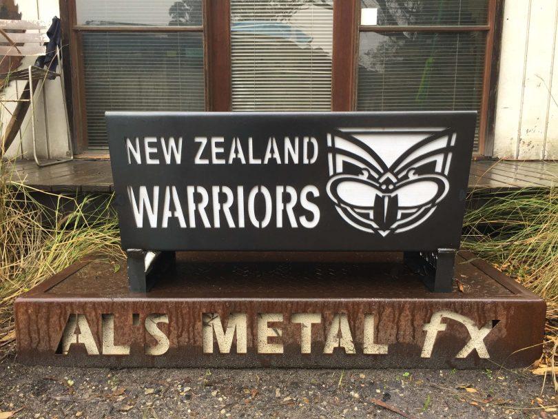 New Zealand Warriors Fire Pit
