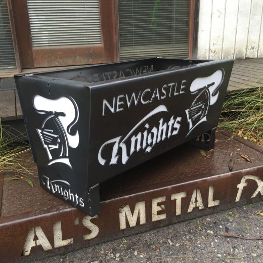 Newcastle Knights Fire Pit