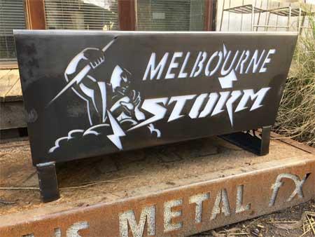 Melbourne Storm Fire Pit
