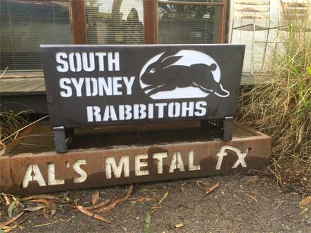 South Sydney Rabbitohs Fire Pit