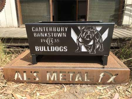 Canterbury Bulldogs Fire Pit