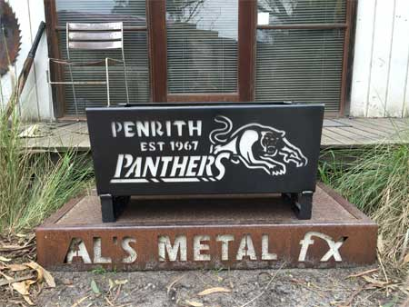Penrith Panthers Fire Pit