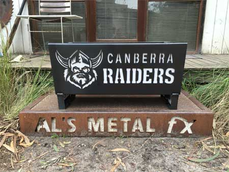 Canberra Raiders Fire Pit