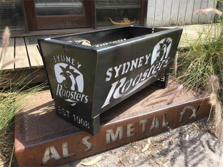 Sydney Roosters Fire Pit
