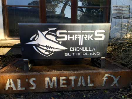 Cronulla Sharks Fire Pit