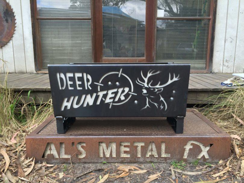 Deer Hunter Kill n Grill Fire Pit