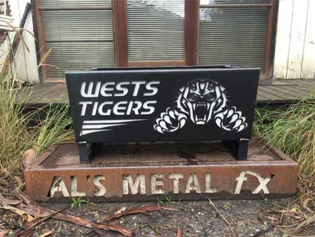 Wests Tigers Fire Pit