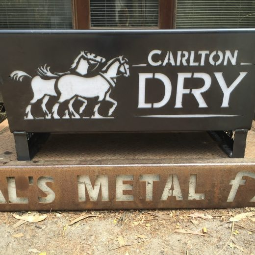 Flat Pack Carlton Dry Fire Pit