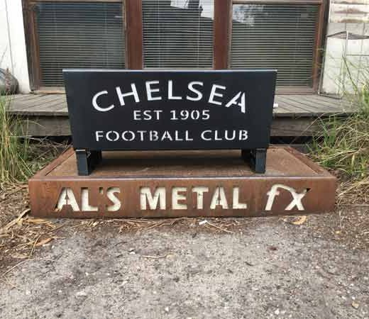 Chelsea Football Club Fire Pit