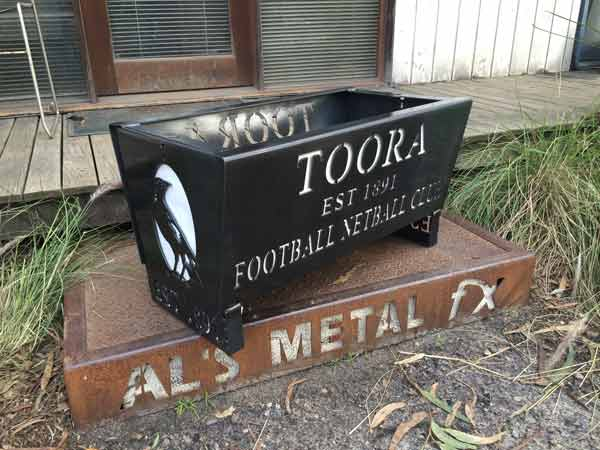 Toora Magpies Football Netball Club Fire Pit