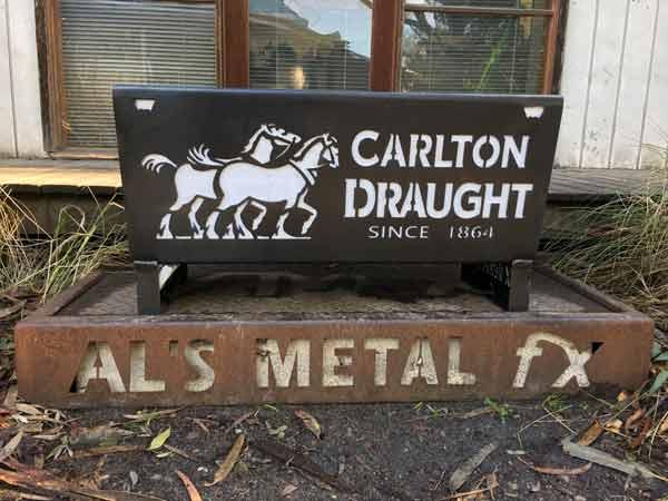 Carlton Draught Fire Pit