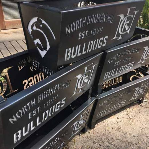 Northern Broken Hill Bulldogs Football Club Fire Pit