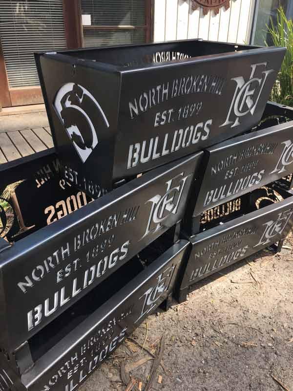 Northern Broken Hill Bulldogs Football Club Fire Pit