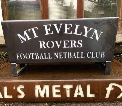 Mount Evelyn Rovers Football Netball Club Fire Pit
