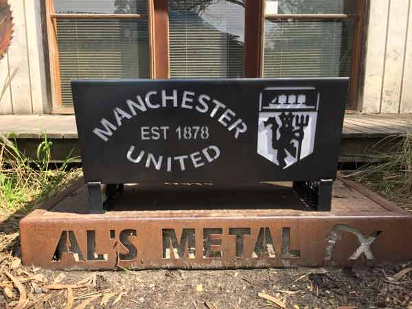 Manchester United Fire Pit