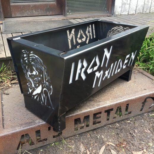 Iron Maiden Fire Pit