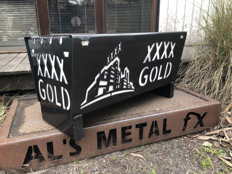 XXXX Gold Fire Pit