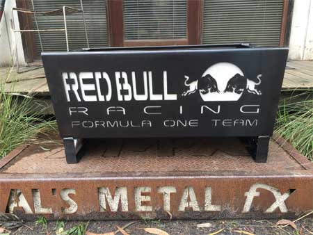 Red Bull Fire Pit