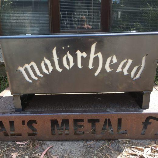 Motor Head Fire Pit