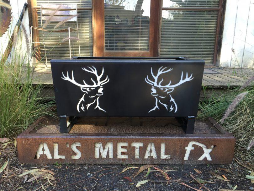 Deer Fire Pit