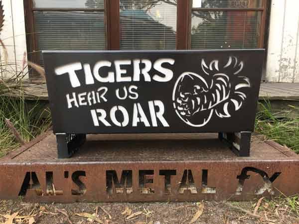 Tigers Fire Pit
