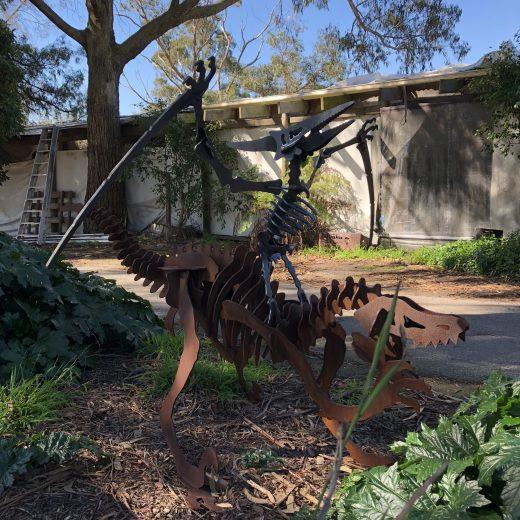 Pterodactyl Metal Art