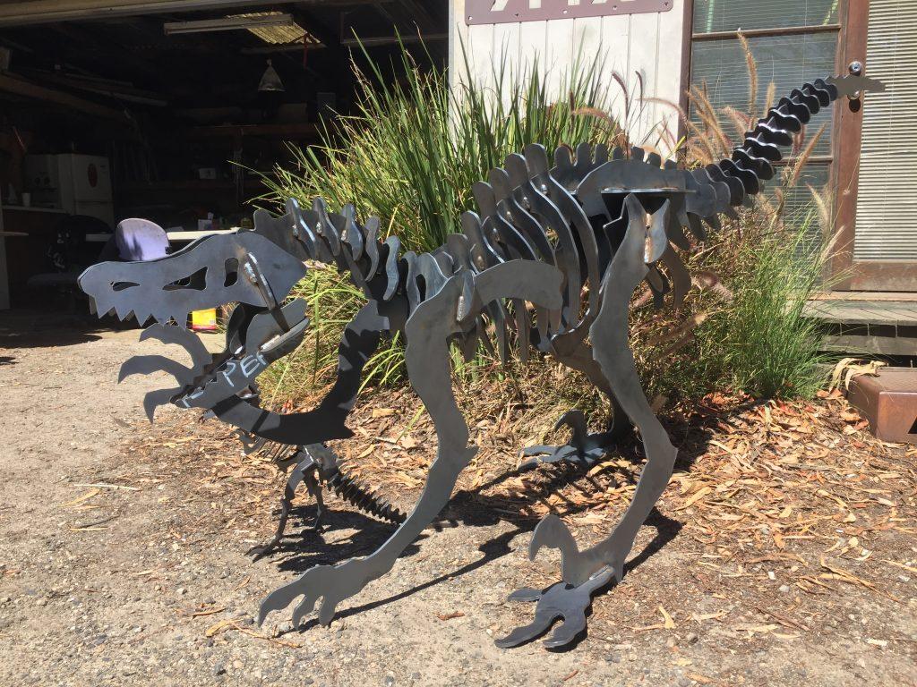Raptor Large Metal Art Amfx Metalart Amp Fire Pits 0405733335
