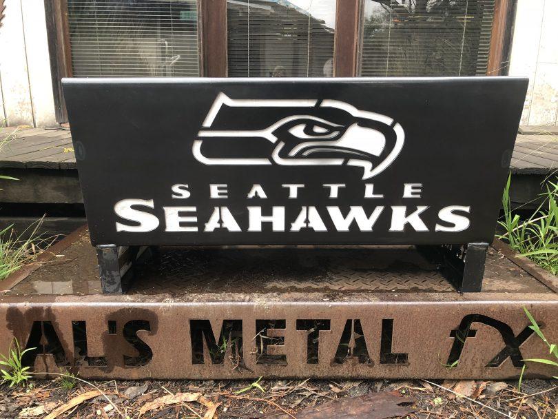 Seattle Seahawks Fire Pit