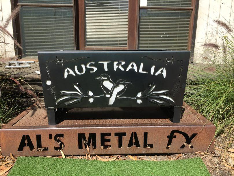 3D Made In Australia BYA Fire Pit