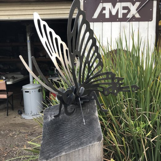 Butterfly Metal Art