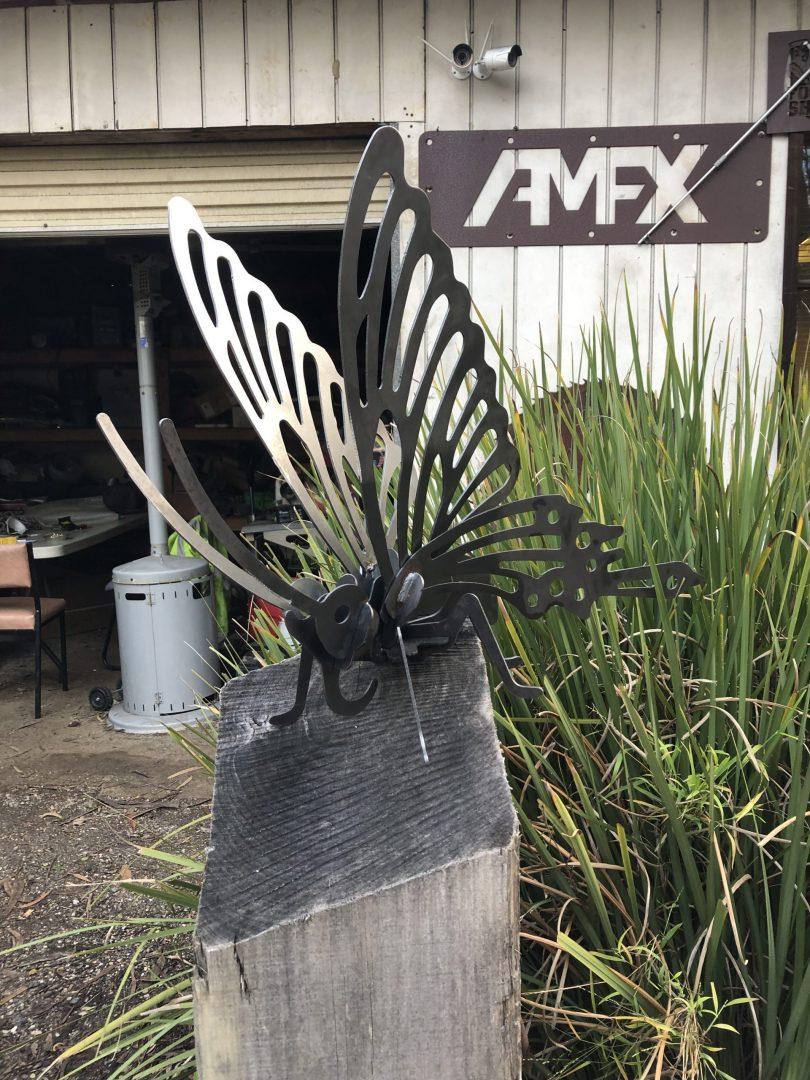 Butterfly Metal Art