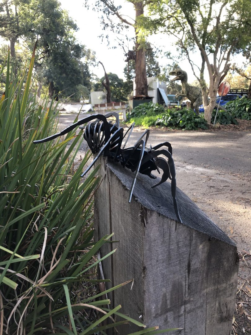 Spider Metal Art