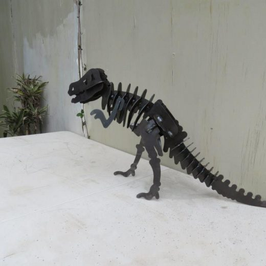 T Rex Metal Art